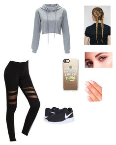 """""""Untitled #194"""" by livelovethelife on Polyvore featuring NIKE, Elegant Touch and Casetify"""