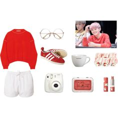 Woozi - Busan Outfit // Summer/Spring