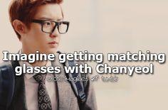 Exo Imagines, Chanyeol, Im Trying, Kpop, Wayfarer, Mens Sunglasses, Style, Asia, Swag
