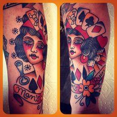 Tristan Bradshaw, Aces Tattoos Denton Texas @Dev Sawhney