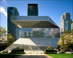 Seattle Public Library, Rem Koolhaas completed in 2004