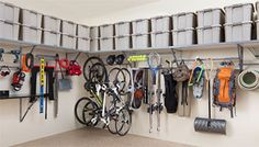 Garage, organizing and a personal touch