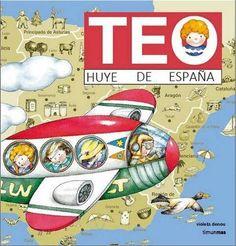 "El libro infantil del próximo St. Jordi: ""TEO... ¡Huye de España!"""