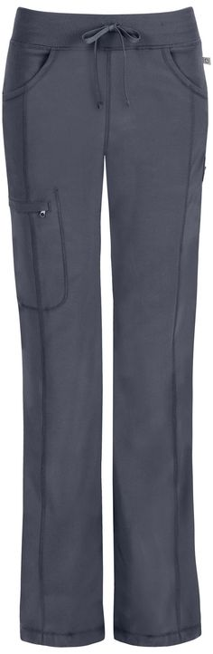 Infinity by Cherokee Low-Rise Straight Leg Drawstring Pant from Cherokee Scrubs at Alegria Cherokee Store. Super comfy, roomy, and a pocket that zips! Scrubs Outfit, Scrubs Uniform, Medical Uniforms, Work Uniforms, Cute Scrubs, Medical Scrubs, Nursing Scrubs, Cherokee Scrubs, Dental