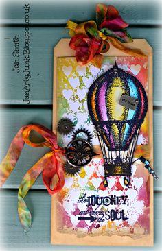 Jan's Arty Junk: Watercolour wonders.....June 2014