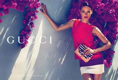Karmen Pedaru for Gucci cruise 2012