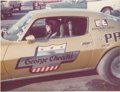 Acapulco Gold 1971 Z-28 Camaro@ Dover Drag Strip Wingdale NY by georgechecchi