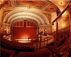 Lancaster's Fulton Opera House - restored to it grandeur. A jewel box theatre; part of downtown's cultural vibrancy.