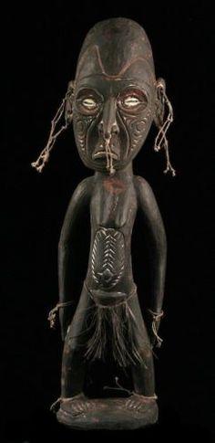 Tribal-sepik-carving-ancestor-figure-papua-new-guinea