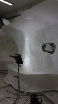 Making windows for Atelier van Lieshout 's extention for Wales University