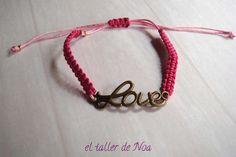 #Pulseras ref. gbi15008 de la Col. Glissant Bracelet, regulables y con detalle central. Te gustan los #perritos, o eres una #enamorada del #amor... Compras en www.eltallerdenoa.com #bisutería #jewelry #bracelet, #adjustable #dog #love #joyería