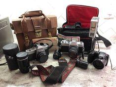 Nikon Coolpix L330 Pentax Lens - Minolta Mamiya Sekor - Camera LOT SLR  #Nikon