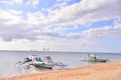 Lanas Beach resort boat The Brumle get to Boracay Island in 20 mins, go island hopping, scuba diving, snorkeling