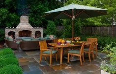 Lake Bluff, IL Modern Garden traditional patio *love this!*