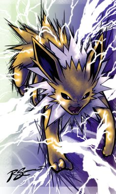 Jolteon's Discharge by JA-punkster on deviantART