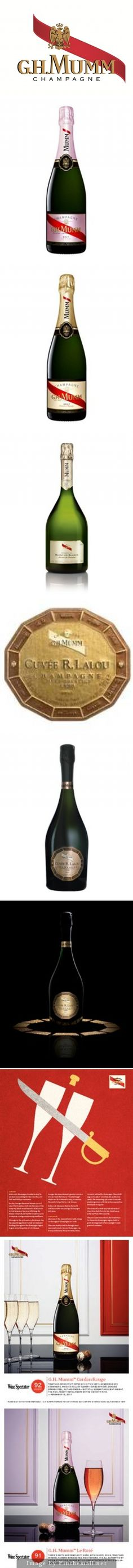 personalised GH MUMM replica champagne bottle label birthday any occasion