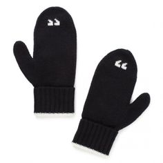 I'm so amused these exist after the joke about my new gloves at Christmas looking like they have air quotes on the fingers.