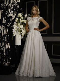 Robert Bullock Bride Collection, the Amaris at Euroopean Bridal
