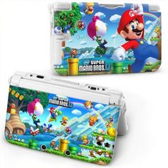 Cute Plastic Hard Cover Shell Case Protector for Nintendo 3DS XL LL Console - Super Mario Bros. U by Santa, http://www.amazon.com/dp/B00AGGMLKK/ref=cm_sw_r_pi_dp_trNQrb00XZM26