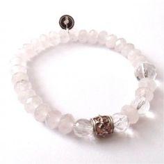 GOHI BRÚSENÝ KRIŠTÁĽ A RUŽENÍN Beaded Bracelets, Jewelry, Fashion, Jewellery Making, Jewlery, Jewelery, Fashion Styles, Pearl Bracelets, Jewerly