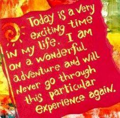 Adventure today quote