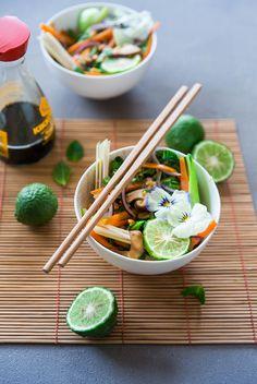 Wok de légumes façon Thaï ©Fraise & Basilic
