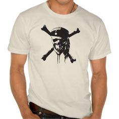 Skull and Cross-Bones Disney Shirts T-Shirt, Hoodie for Men