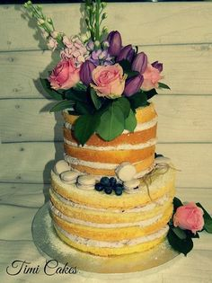 nahá tortička , svadobné torty | Tortyodmamy.sk