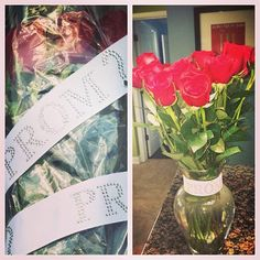 How to Ask a Girl to Prom.. Maybe coming to my school during lunch and surprising me by asking me to prom with roses!! I would probably cry