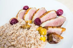 ★ Duck breast & chestnut rizotto ★