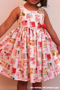 Little Miss Dress, Day Dresses, Girls Dresses, Toddler Dress Patterns, Baby Frocks Designs, Frock Design, Amelia Dress, Trendy Kids, Unique Dresses