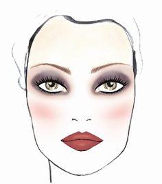 SEPHORA TRICK: Si tu rostro es ancho aplícate el rubor en la punta de los pómulos, trata de mantenerlo dentro del cuadro del ojo, de esta manera lo adelgazarás al instante. #Sephora