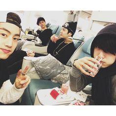 Mark, Jackson, JB and Jinyoung//GOT7
