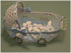 CARROZZINA per confettate Bomboniera nascita/battesimo