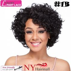 It's A Wig - Luxury L Part Lace Wig Greta from nyhairmall