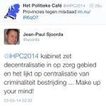 Welkom Het Politieke Café (@iHPC2014) bij #AubergedesTweets
