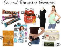 Second Trimester Favorites