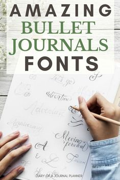 Bullet Journal Fonts to try on your Bujo today beautiful bullet journal font ideasbeautiful bullet journal font ideas Bullet Journal For Beginners, Bullet Journal Hacks, Bullet Journal How To Start A, Bullet Journal Layout, Bullet Journal Inspiration, Bullet Journals, Bullet Journal Hand Lettering, Journal Fonts, Hand Lettering Fonts