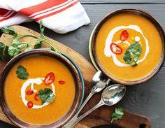 Βελουτέ σούπα λαχανικών - Jenny.gr