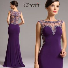 Elegant Purple Formal Gown with Illusion Sweetheart Neck Pink Prom Dresses, Gala Dresses, Backless Prom Dresses, Ball Gown Dresses, Long Purple Dress, Party Dresses, Formal Dresses For Teens, Formal Gowns, Elegant Dresses