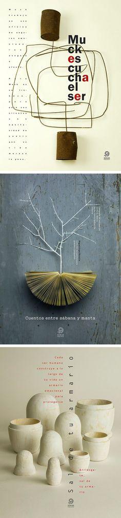 poster set   José Antonio Sánchez Navalón #typography