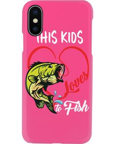 Fishing This Kids Loves to Fish T-Shirt - Cyber Pink #nature #workouts #cooking fishing fry, fishing hook jewelry, fishing hook bracelet, back to school, aesthetic wallpaper, y2k fashion