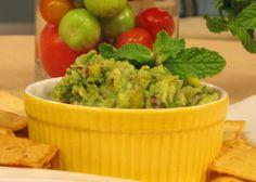 Dip de guacamole mango y tomate
