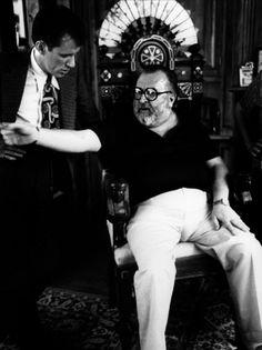 Sergio Leone & James Woods
