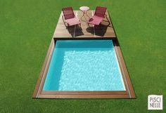 Couverture de piscine Piscinelle multifonction.