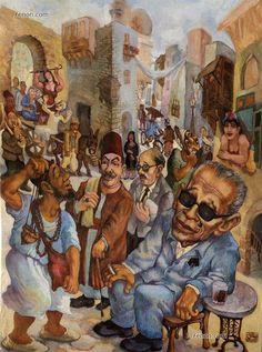 artist Salah Anan - Egypt