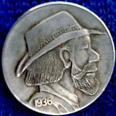 Don Wolfe Hobo Nickel, Buffalo, Classic Style, Coins, Carving, The Originals, Rooms, Wood Carvings, Sculptures