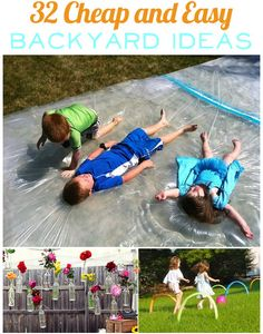 32 Cheap and Easy Backyard Ideas – Borderline Genius Inexpensive Backyard Ideas, Cheap Backyard Ideas