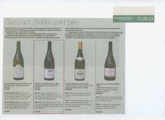 The Sunday Times selects another winner, this time it's our Chablis from Louis Michel. Steely, nervy and very complex.