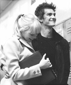 ya know, i think it would be okay with me if he had his arm around me like that i really think it would. and then his smile... but then her smile. how could i ever take her place? confliction